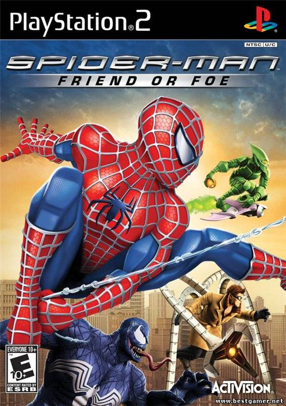 [PS2] Spider-Man: Friend or Foe [RUS/ENG|NTSC]