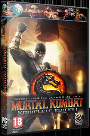 Mortal Kombat: Komplete Edition [1.0 + 3 DLC] (2013) PC | RePack от Black Beard