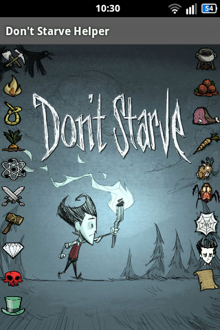 [Android] Don't Starve Helper 3.0 [adventure / arcade / strategy/мануал. ENG]