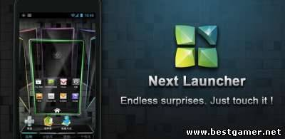 [��������] Next Launcher v1.11 - v1.51 + 4 ������� (� �������������) + 210 ��� + 4 ������� [Android 2.2+, RUS]