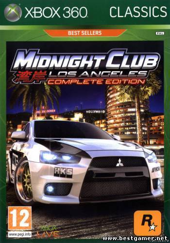 [JTAG/XBOX 360]Midnight Club: Los Angeles Complete Edition (2009) [GOD/ENG/Racing]
