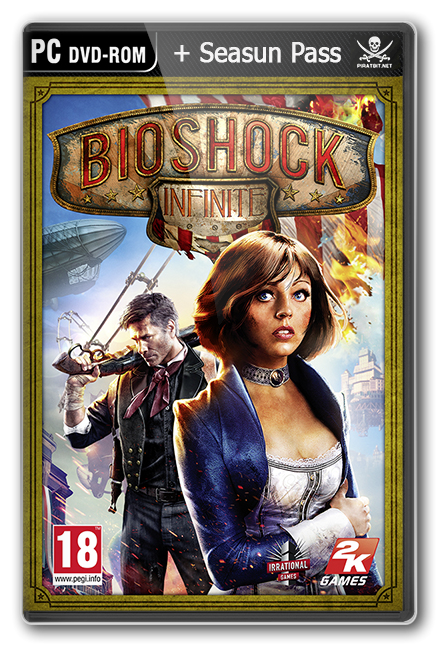 BioShock Infinite + 5 DLC (v. 1.0.1488291) [�������� ��������, RU ] [Steam-Rip]