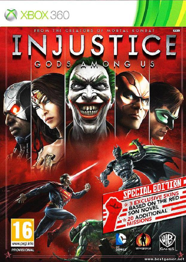 [FULL] Injustice: Gods Among Us - Special Edition [RUS] UPD!