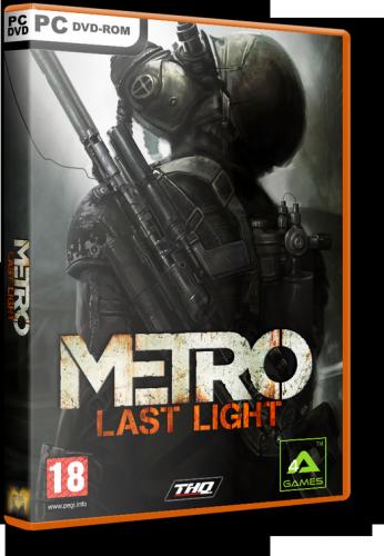 Metro: Last Light [2013, RUS, ENG/RUS, ENG, Repack] от R.G. Revenants