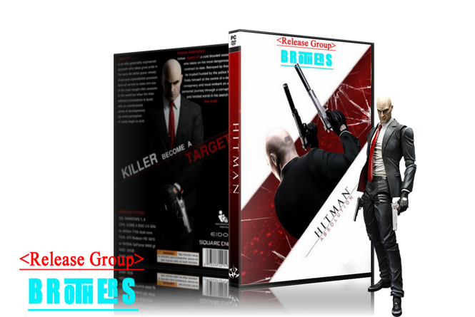 Hitman Absolution.Professional Edition (1.0.438.0) Repack от R.G.BROTHERS
