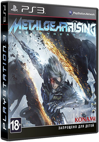 Metal Gear Rising: Revengeance + All DLC [ENG][4.31 CFW]