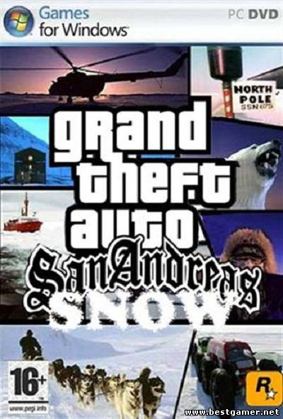 Grand Theft Auto 3: Snow City(by R.G.BestGamer.net)[Repack]