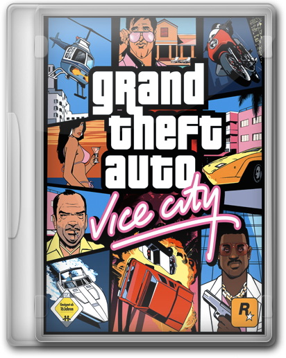 GTA / Grand Theft Auto: Vice City (RU/EN/FR/DE/ES) [RePack by KloneB@DGuY]