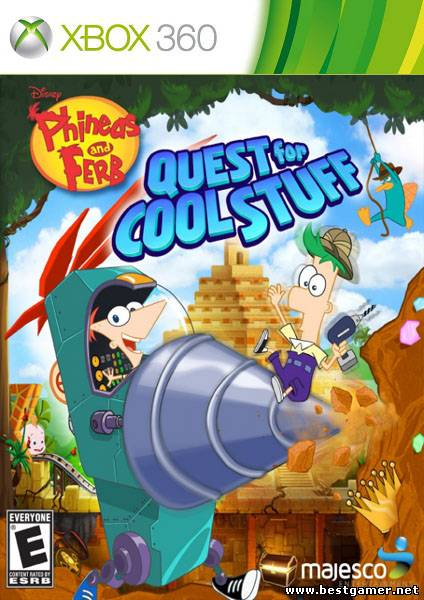[JTAG/FULL] Phineas And Ferb Quest For Cool Stuff [NTSC-U / ENG]