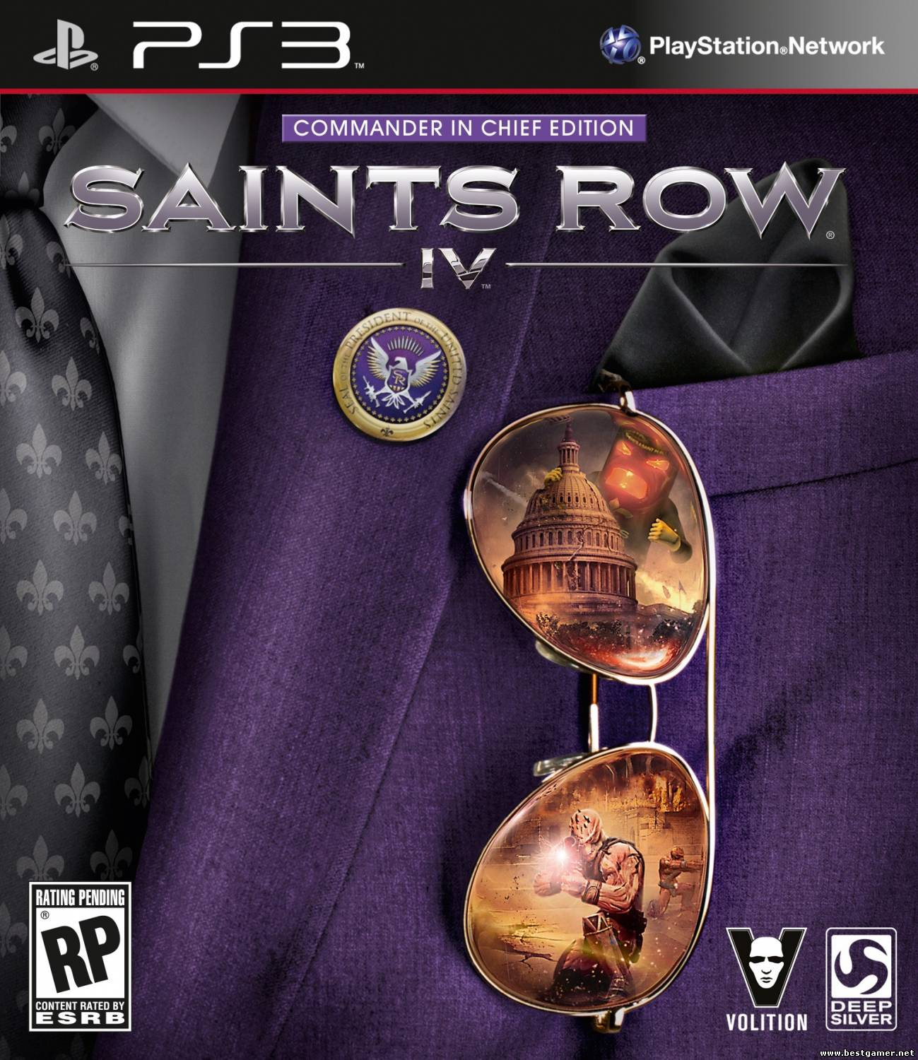 (PS3)Saints Row IV [ENG]