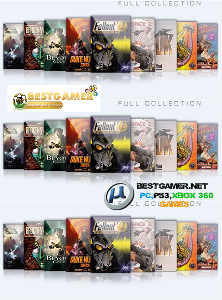 Ultimate GOG Collection + Full Extras (116 games) [Full Rip] [L] {C - F}