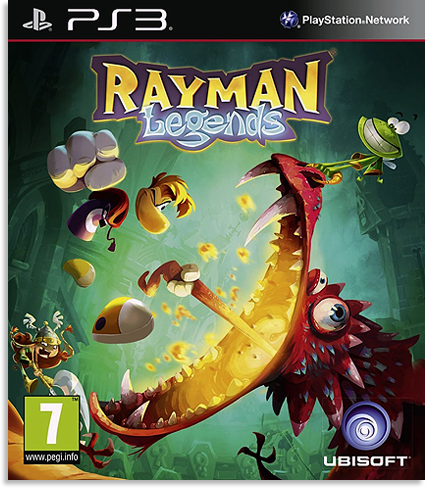 Rayman: Legends [DEMO] [RUS] [3.41/3.55/4.40+]