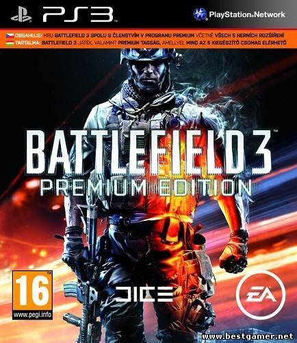 [PS3] Battlefield 3 Premium [RUS\ENG] [Repack] [5xDVD5]