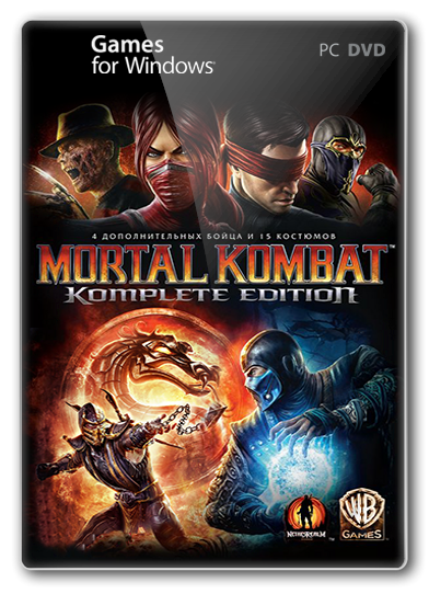 [Русификатор] Mortal Kombat Komplete Edition ( by DaEMoN) (Текст)