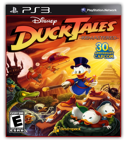 [PS3] DuckTales: Remastered [RUS] [Repack] [1xСD]