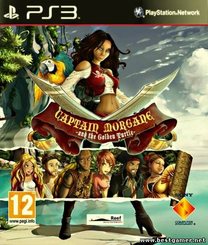 [PS3] Captain Morgane and the Golden Turtle [RUS] [Repack]