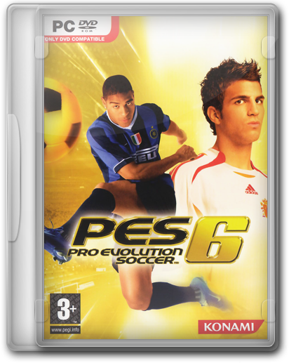 Pro Evolution Soccer 6 (RU/EN/FR/DE/IT/ES/PL) (2006) [RePack by KloneB@DGuY]