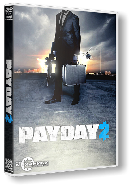 PayDay 2 (ENG) [RePack] от R.G. Механики