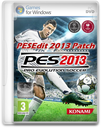 [Patch] PESEdit.com 2013 Patch 6.0 (Pro Evolution Soccer 2013)