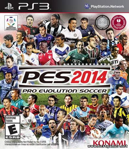 [PS3] Pro Evolution Soccer 2014 [EUR/RUS][CWF 4.30+]
