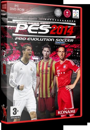 Pro Evolution Soccer 2014 (Konami) (RUS|ENG) [RePack] от SEYTER
