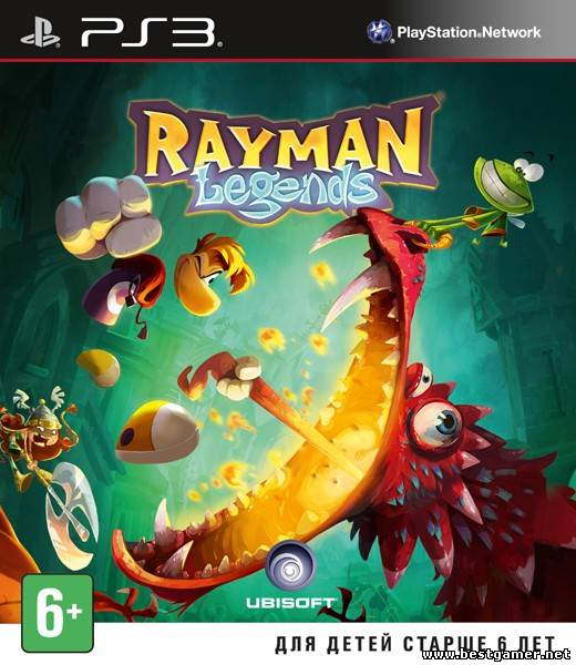 [PS3] Rayman Legends [PAL] [RUS\ENG] [Repack] [1хDVD5]