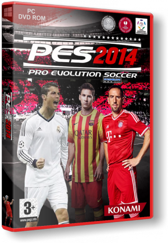 Pro Evolution Soccer 2014 (RUS\ENG) [Repack] от xatab Обновлено20.0.9.2013 г