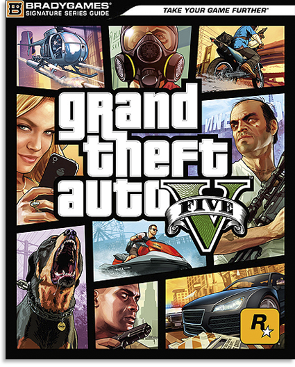 Grand Theft Auto V: Signature Series Guide [Руководство По Игре] [PS3/XBOX360] [2013, PDF]