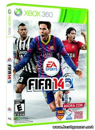 [JTAG/XBOX 360]FIFA 14 [GOD / RUSSOUND](2013)