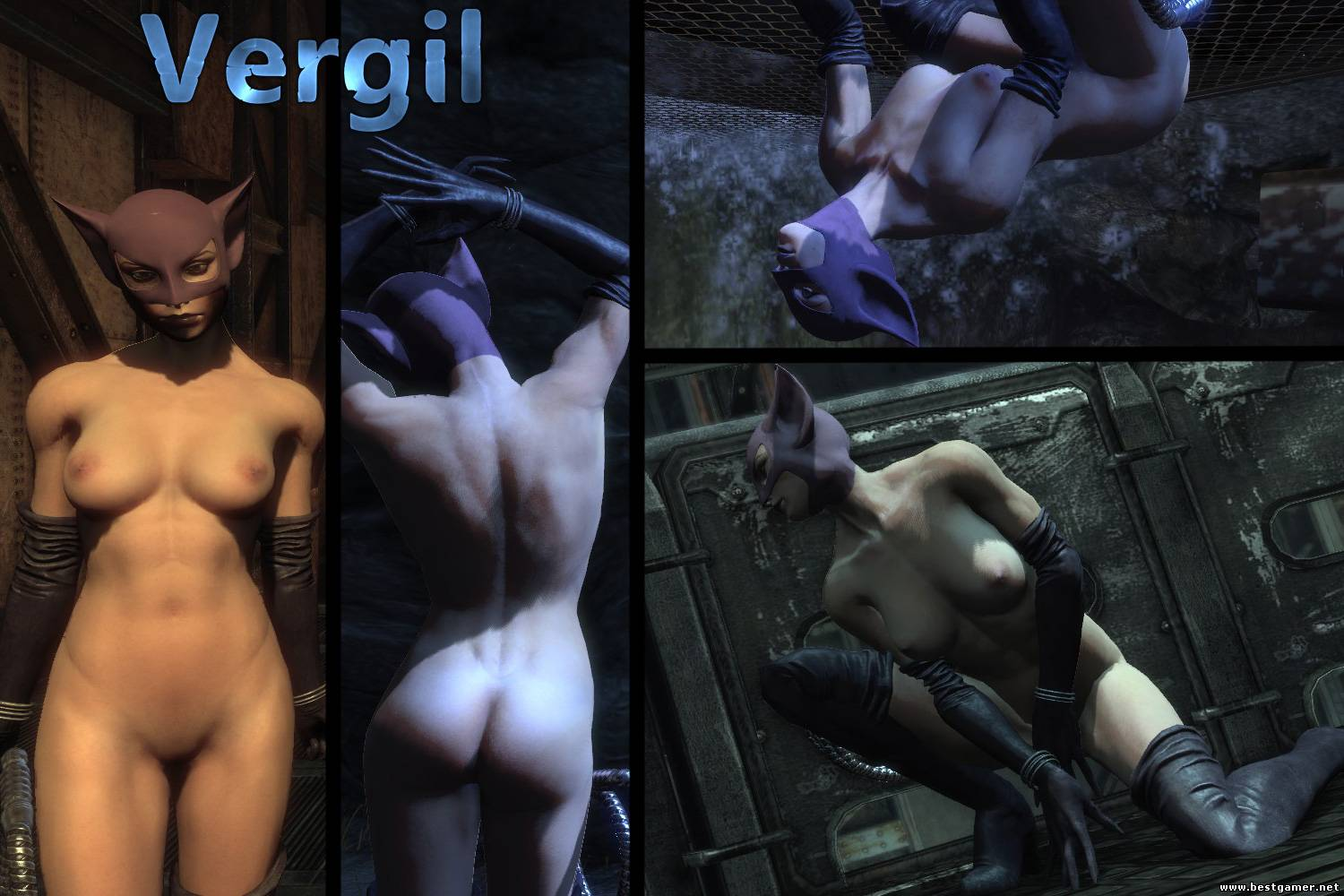 Batman arkham city naked women mod hentai clip