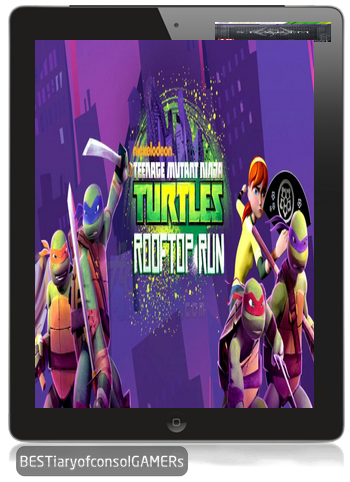 [BESTiaryofconsolGAMERs]{Android} TMNT : Rooftop Run [Mod+Unmod] v1.0