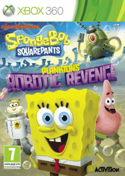 (XBOX360)SpongeBob SquarePants Planktons Robotic Revenge(Eng)LT+ 1.9