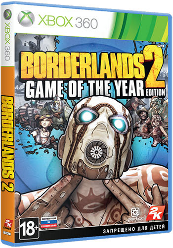 [XBOX360] Borderlands 2:Game of the Year Edition [Region Free/ENG]