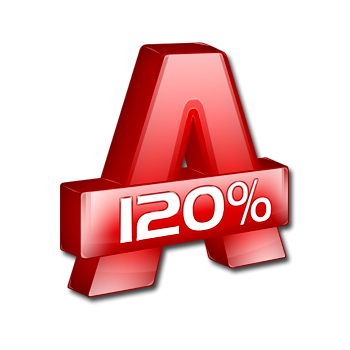 Alcohol 120% 2.0.2.5629 RePack by KpoJIuK [2012, RUS, MULTI]