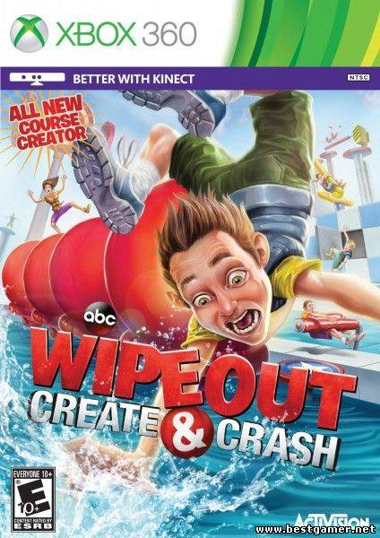 [JTAG/XBOX 360] Wipeout: Create & Crash (2013) [GOD / ENG]