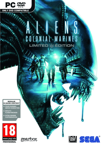 Aliens: Colonial Marines - Limited Edition (SEGA) (ENG/MULTi6) [L]