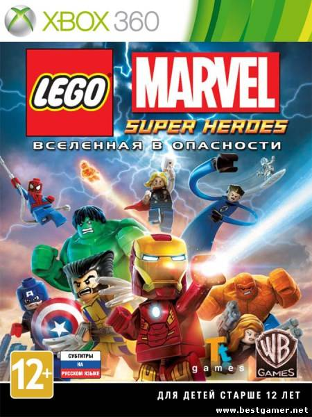 [FULL] LEGO Marvel Super Heroes [RUS]