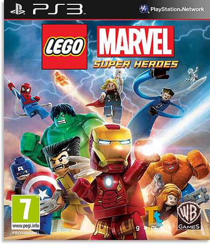 LEGO: Marvel Super Heroes [FULL] [ENG] [4.30+]