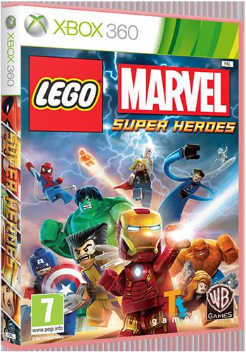 [XBOX360] LEGO Marvel Super Heroes [Region Free / RUS]