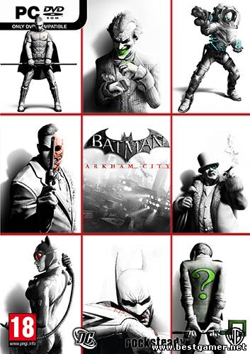 Batman: Arkham City - Game of the Year Edition(RUS / ENG / MULTI8) [Steam-Rip | L]