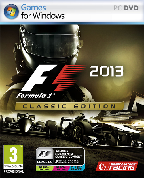 F1 2013 - Classic Edition (ENG/RUS) [Repack]от z10yded
