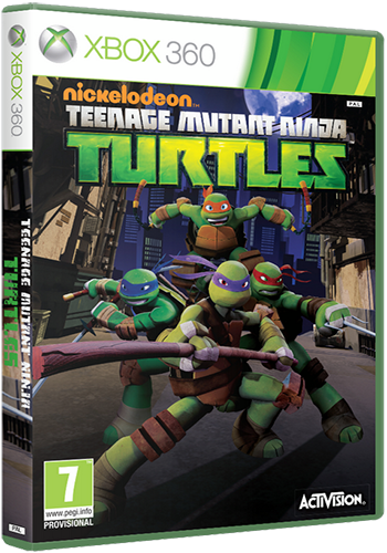 Teenage Mutant Ninja Turtles [Region Free/ENG] (XGD3) (LT+ 3.0)