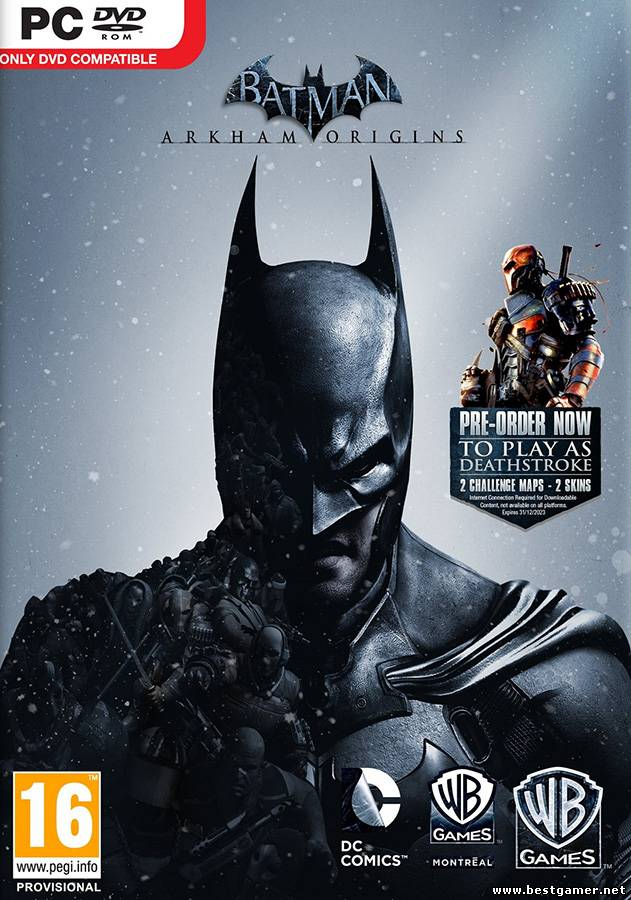 Batman Arkham Origins(R.G.BestGamer.net)(L) [Steam-Rip]