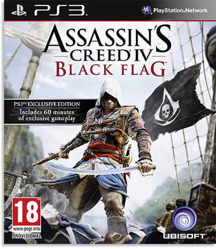 Assassin�s Creed IV Black Flag - ������� ����� PS3 � PS4