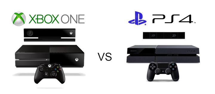 PS4 �� ����� ������ � ��������� ��������� Xbox One
