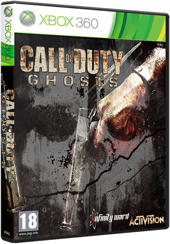 [XBOX360] Call of Duty: Ghosts + DLC [PAL/RUSSOUND][Freeboot]
