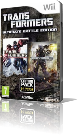 (Wii)Transformers Ultimate Battle Edition (PAL/Rus)