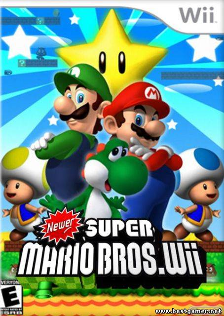 New Super Mario Bros. Wii Mods [Wii] [NTSC] [ENG] (2013)