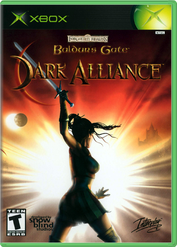 [XBOX] Baldur's Gate: Dark Alliance [RUS/NTSC]