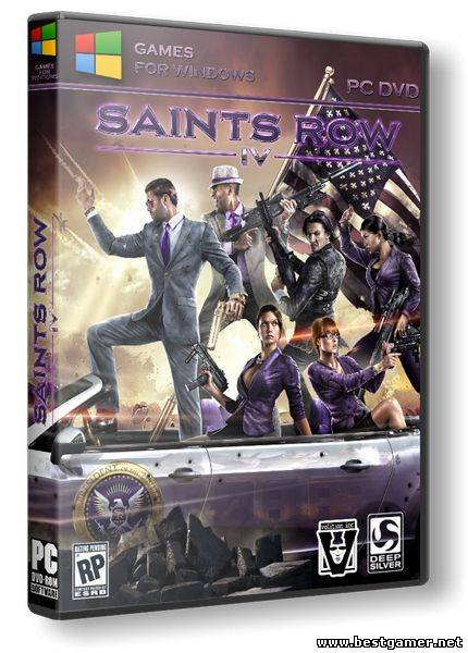 Saints Row 4: Commander-in-Chief Edition + 20 DLC (1.0.6.1.1122369 (Update 7)) (2013) Repack